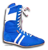 Click here to see classic blue cambrelle boxing boots
